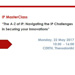 "<B>IP MasterClass ""The A-Z of IP: Navigating the IP Challenges in Securing your Innovations""</B>"